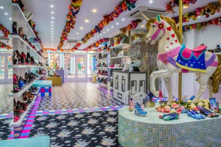 Irregular Choice visual merchandising retail