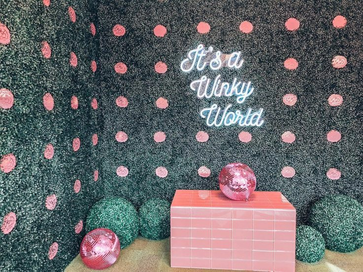 Winky Lux retail experience