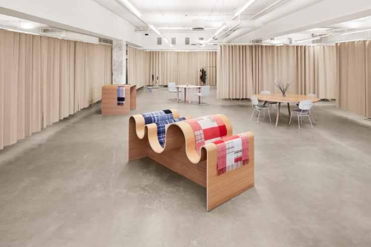 Holzweiler store design