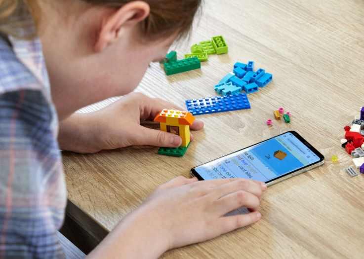 LEGO braille AI