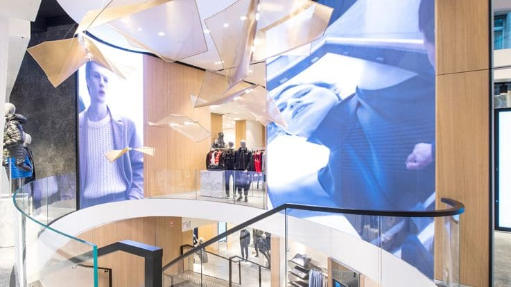 Hugo Boss – New Paris Retail Store