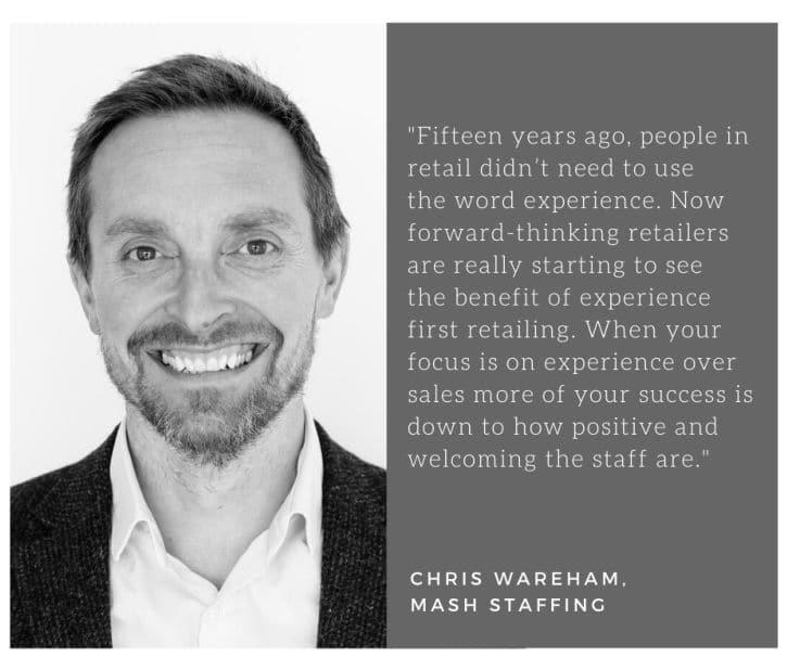 Mash Staffing – Retail Staffing – Chris Wareham