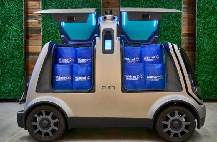 Walmart Nuro autonomous grocery delivery
