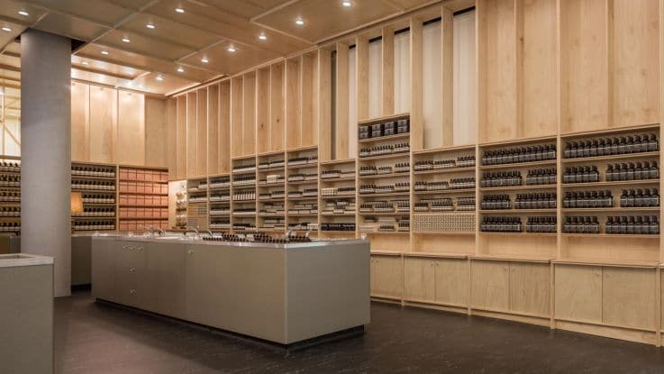 Aesop – Retail Display
