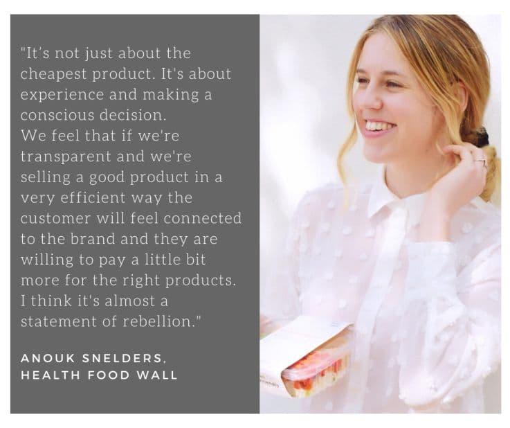 Health Food Wall – Retail Technology