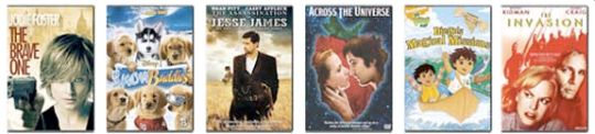 New DVD Releases - Feb 5, 2008