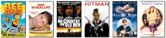 Redbox New Releases for March 11, 2008