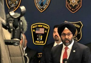 Grewal looks into the death of a man in police custody in Trenton.