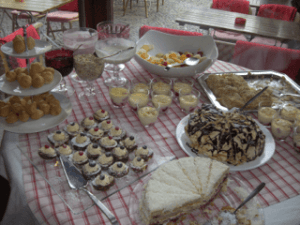 Sunday morning brunch at Restaurant Pasternak