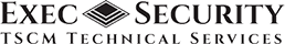 Exec Security TSCM Technical Services Logo
