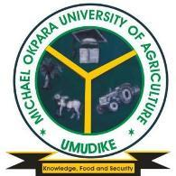 Michael Okpara University Of Agriculture Umudike (MOUAU) Admission List for 2020/2021 Academic Session is Out