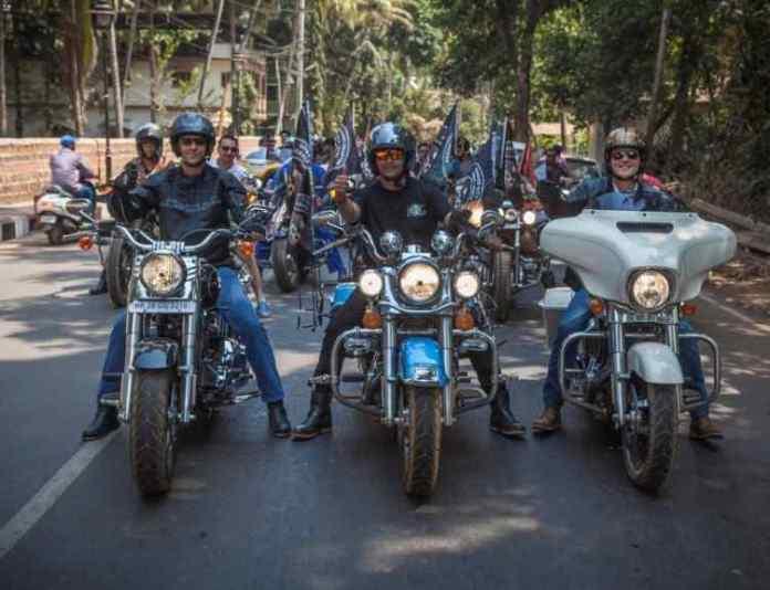 India Rally 2017,5th H.O.G India Rally 2017,India Rally planned GOA,Harley Davidson riders,Bikers rally goa