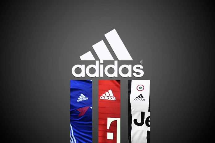 adidasAdidas emerging winner,Soccer teams,Adidas three-striped logo,Europe's soccer leagues,champions, Europe's soccer league