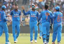 india- ODI team