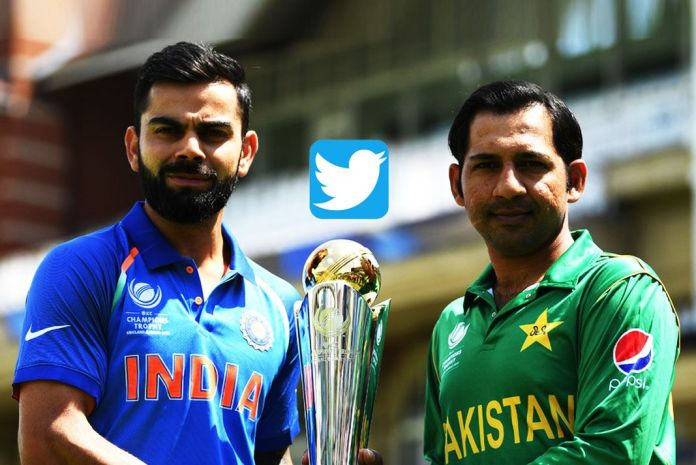 #INDvsPAK,India VS Pakistan Highest Tweet,Highest Tweet Vs Pakistan India Match,record score Twitter,final create record tweet IND Vs Pak