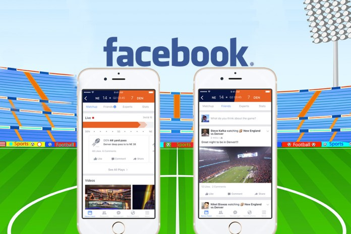 Facebook's new tab for live sports and sports shows- InsideSport