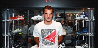 Roger Federer,Nike,RF19 Pop-Up,NIke renowned boutique retailer Kith,Federer collaborate