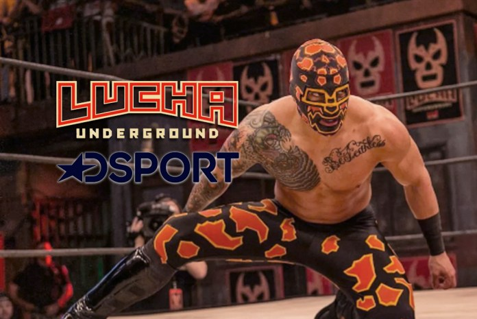 Mexican pro-wrestling series 'LUCHA UNDERGROUND' on DSports- InsideSport