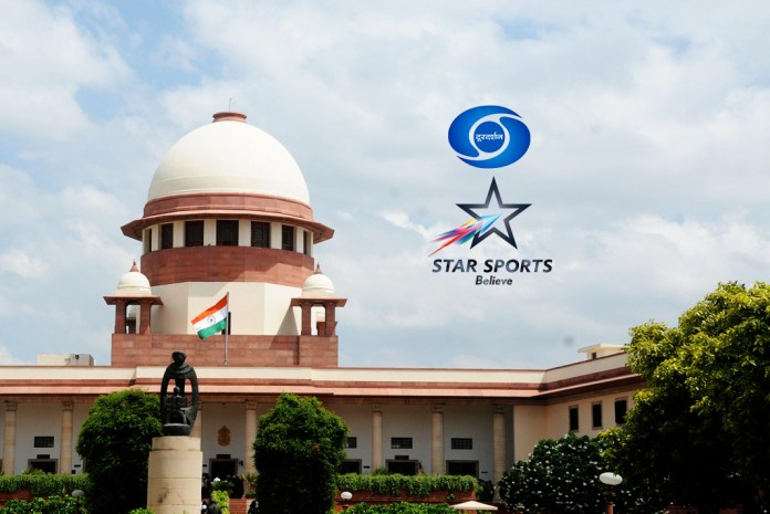 Star India Private Limited,Prasar Bharti Rights,Supreme Court Victory,India Sports Business,sports feed with Prasar Bharati