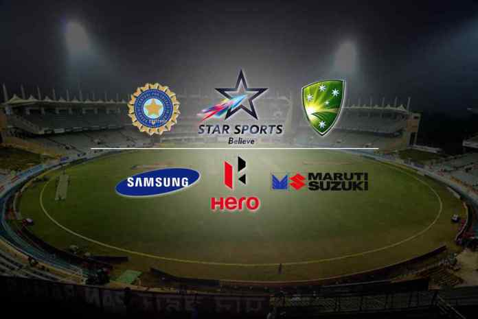 Hero, Maruti, Samsung broadcast sponsors for Ind-Aus series