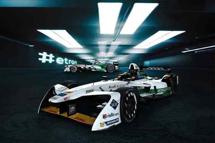 Audi unveils all-electric Formula E entry- InsideSport