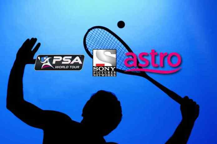 Sony, Astro renew squash broadcast rights- InsideSport