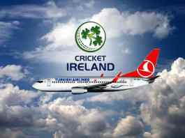 Turkish Airlines lead sponsor for Cricket Ireland
