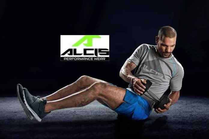 Shikhar Dhawan,Alcis,Shikhar Dhawan Alcis brand Ambassador,Alcis brand ambassador Shikhar Dhawan,sports and fitness wear brand ALCIS