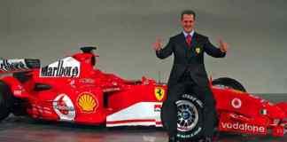 Schumacher's Monaco-winning Ferrari sells for $7m