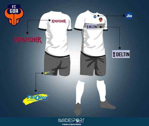 FC Goa sponsors in ISL 4 - InsideSport