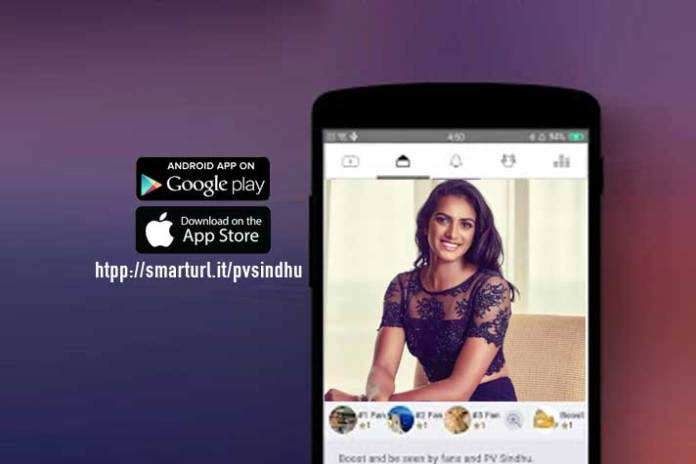 Badminton princess launches PV Sindhu app - InsideSport