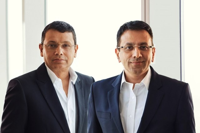 Uday Shankar (left), Chairman & CEO and Sanjay Gupta (right), Managing Director, Star India - InsideSport