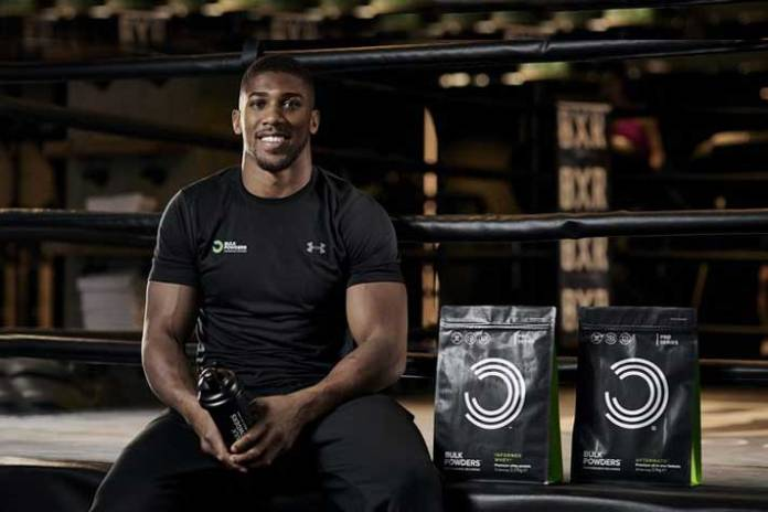 Heavyweight champion Joshua to endorse Bulk Powders - InsideSport