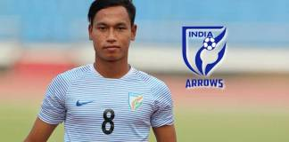 Amarjit Singh, Captain of AIFF's developmental side Indian Arrows - InsideSport