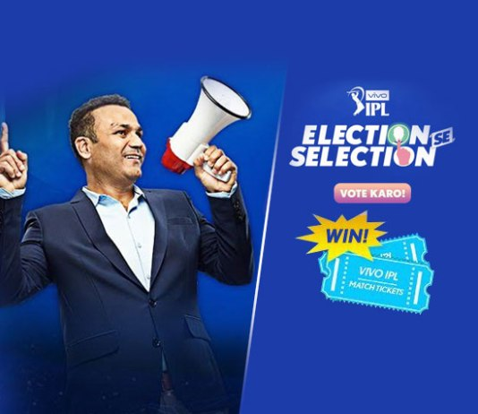 Sehwag promotes Star's Election se Selection IPL campaign - InsideSport
