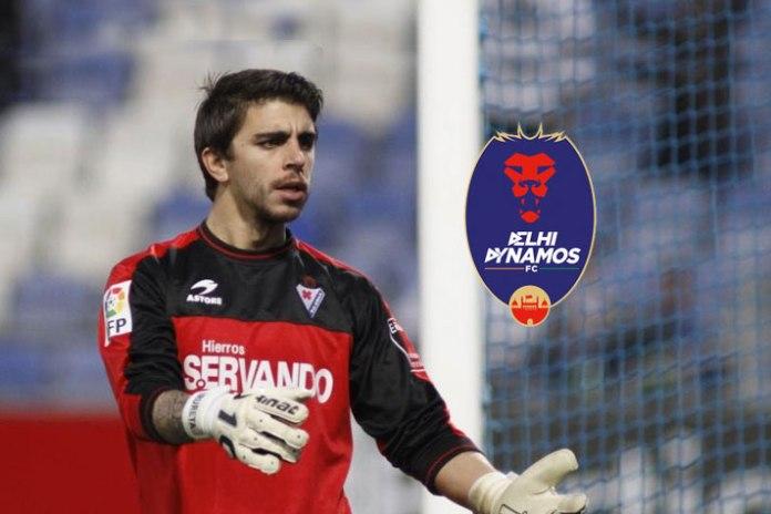 Delhi Dynamos sign goalkeeper Xabi Irureta - InsideSport.co