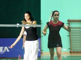 Deepika Padukone and Shraddha Kapoor - InsideSport