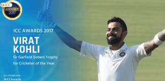 ICC 2017 Awards,Virat Kohli,Virat Kohli ICC Cricketer,ICC Cricketer of the Year 2017,ICC 2017 Awards