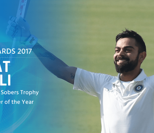 Virat Kohli - Winner of Sir Garfield Sobers Trophy for ICC Cricketer of the year 2017 - InsideSport