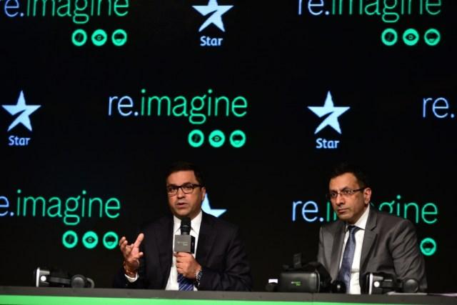 Rahul Johri, CEO, BCCI (left) with Sanjay Gupta, MD, Star India (right) - InsideSport