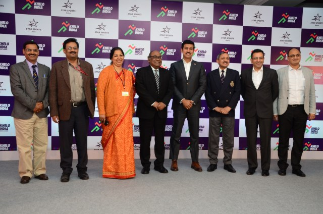 Khelo India Official Anthem launch event held in New Delhi on 15/01/2018 - InsideSport