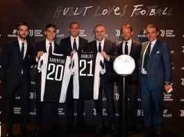 Juventus extends partnership with Hublot for three years - InsideSport