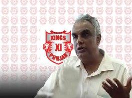Kings XI Punjab CEO Satish Menon
