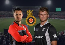 Corey Anderson (right) will replace the injured Nathan Coulter-Nile (left) in Royal Challengers bangalore Squad for IPL 2018 - InsideSport
