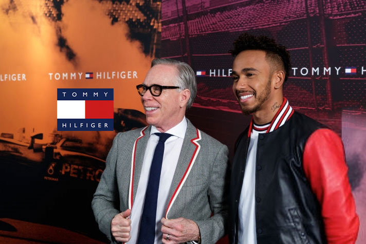lewis hamilton global brand ambassador for tommy hilfiger. Black Bedroom Furniture Sets. Home Design Ideas