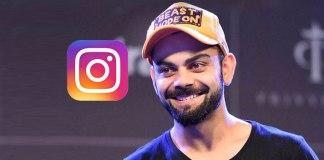 Virat Kohli: Now, Kohli also tops Instagram honours in India - InsideSport