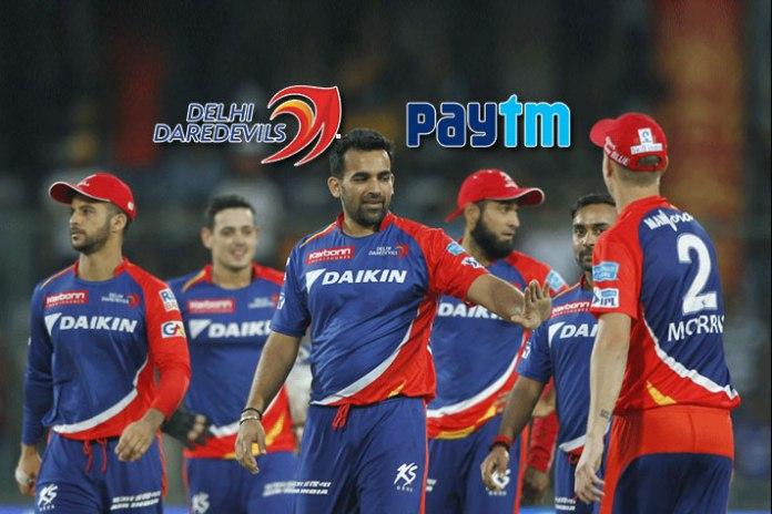 Paytm official ticketing partner of Delhi Daredevils for IPL 2018 - InsideSport