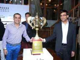 Viswanathan Anand, brand ambassador of Poker Sports League, unveils PSL Season 2 trophy - InsideSport