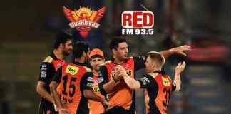 Red FM to be SunRisers Hyderabad lead sponsor for IPL 2018 - InsideSport