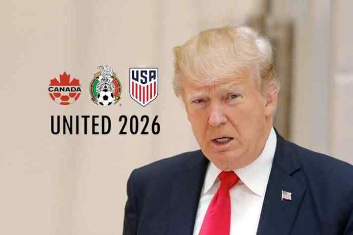 Donald Trump flexes political muscle for support to 2026 WC United Bid - InsideSport